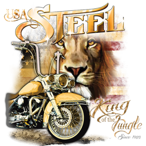 USA STEEL KING OF THE JUNGLE