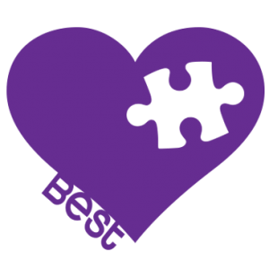 BEST FRIENDS PUZZLE-HEART