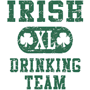 IRISH 'XL' DRINKING TEAM
