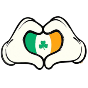 CARTOON HANDS -HEART IRISH