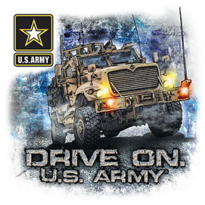 +DRIVE ON US ARMY