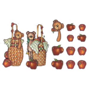 APPLES IN BASKET~CUT UP   27