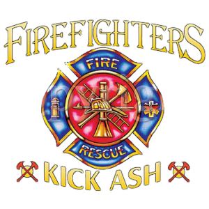 FIREFIGHTERS KICK ASH    19