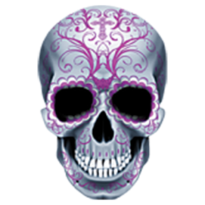CANDY SKULL-ALL PINK
