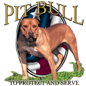PROTECT/SERVE-PIT BULL  22