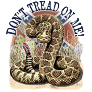 DON'T TREAD ON ME-SNAKE
