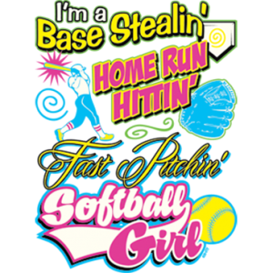 FAST PITCH SOFTBALL GIRL