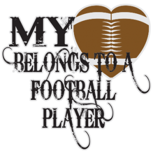 MY HEART BELONGS -FOOTBALL