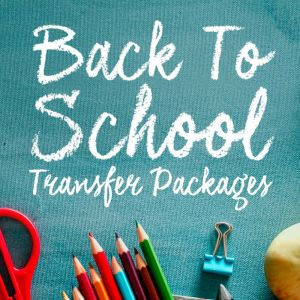 BACK TO SCHOOL TRANSFER PACKAGE