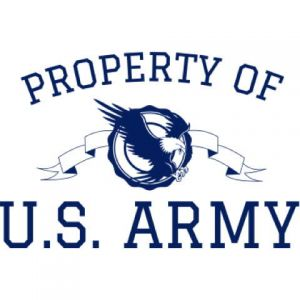 Property Of U.S. Army Template
