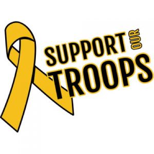 Support Our Troops 2 Template