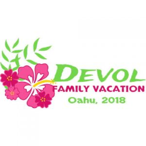 Family Reunion Hibiscus Template