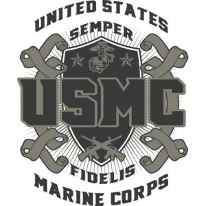 Marines Support 5 Template
