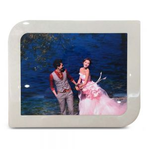 10 X 12 ROUNDED ANGLE FRAME W METAL INSERT