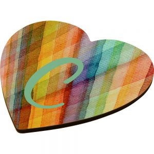 HEART COASTER WITH CORK
