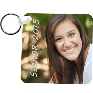 KEYCHAIN SQUARE 2 SIDED