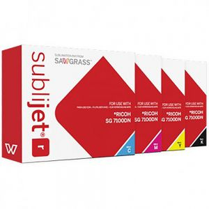 Ricoh SG 7100 DN - Sublijet R Extended Cartridges