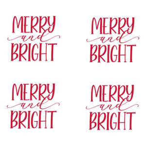 MERRY AND BRIGHT MASK