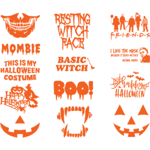 HALLOWEEN SHEET/MASKS