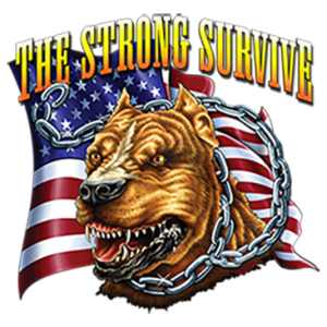 THE STRONG SURVIVE DOG