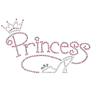 PRINCESS SHOE RHINESTUD
