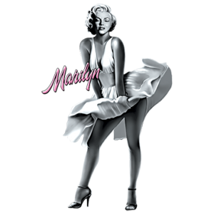 MARILYN (PINK TEXT)