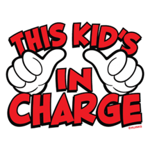THE KIDS IN CHARGE
