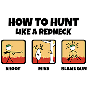 HOW TO HUNT A REDNECK