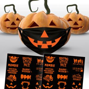 HALLOWEEN FACE MASK PACKAGE