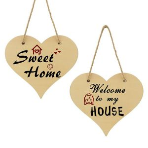 HEART POLYWOOD DOOR HANGER