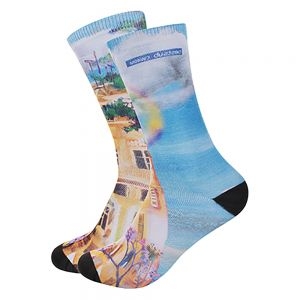 SUBLIMATION CREW SOCKS- MEN