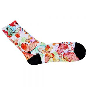 SUBLIMATION CREW SOCKS- WOMEN