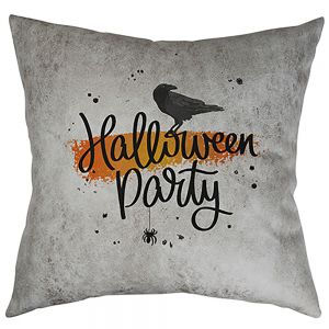 LEATHAIRE PILLOW COVER- DARK GRAY
