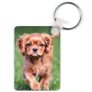 RECTANGLE KEYCHAIN 2 SIDED