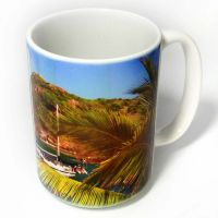 CASE OF 36 - 15 OZ WHITE MUGS