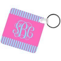 SQUARE KEYCHAIN TWO SIDED