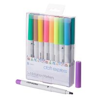 SUBLIMATION MARKERS- 18 COLORS